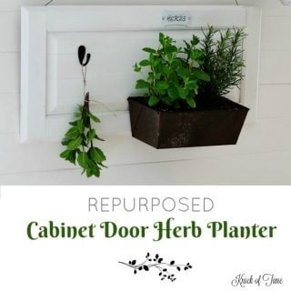 Cabinet Door Herb Planter