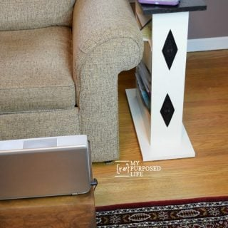 Small Sofa Side Table   Custom Build