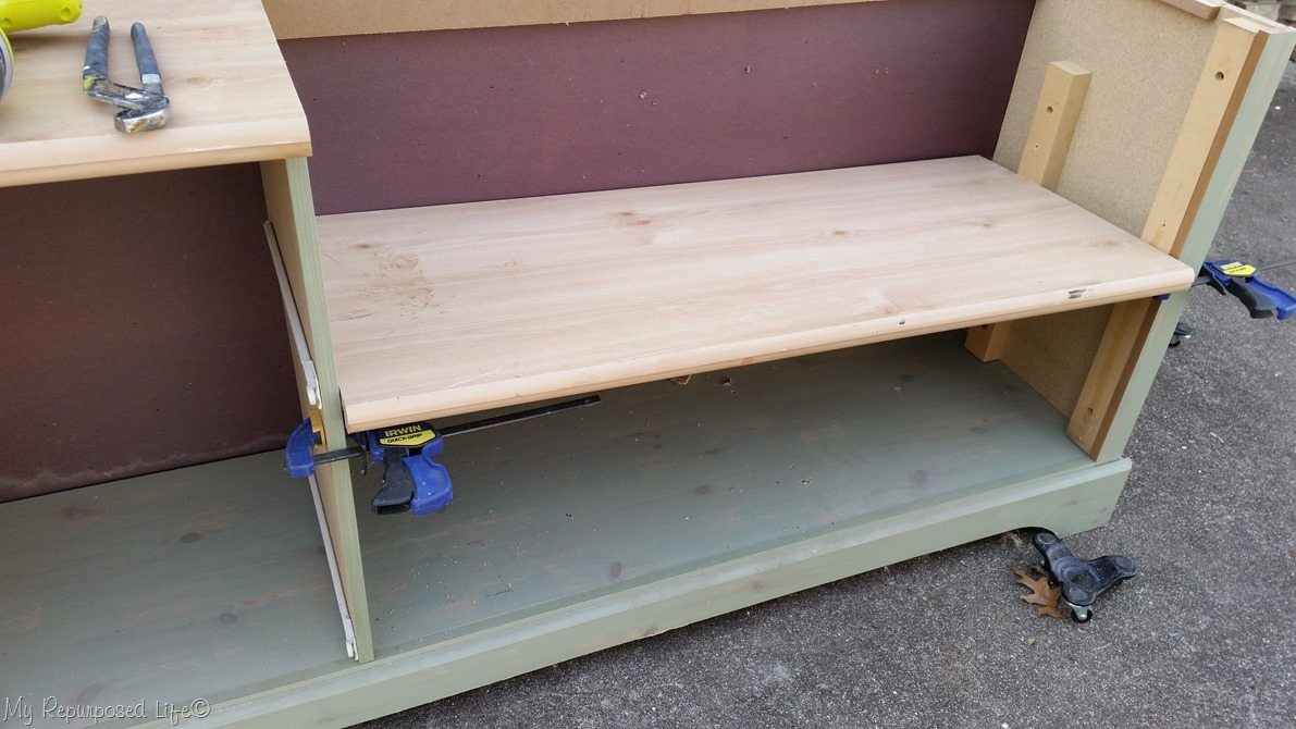 dresser bench seat dry fit