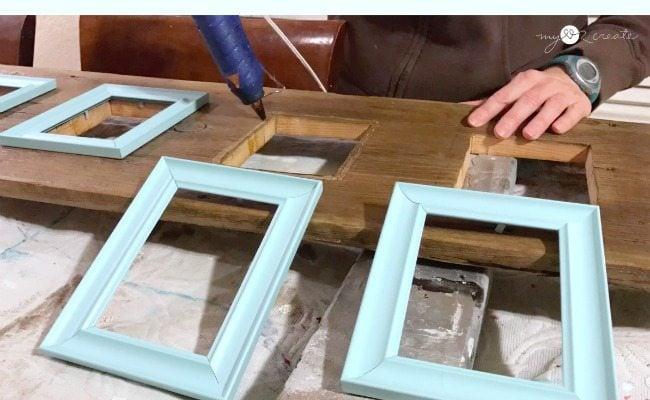 reclaimed wood photo display my repurposed