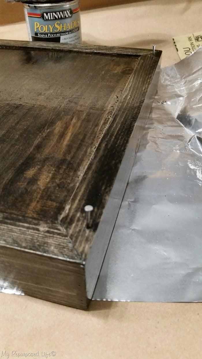 minwax polyshades stain classic black