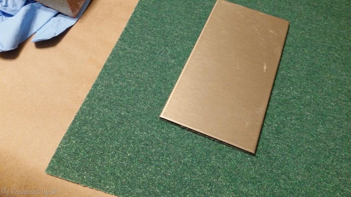 sand aspect metal tile