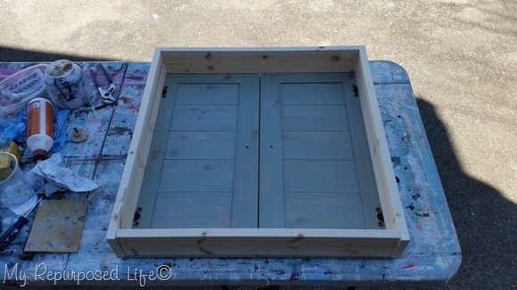 craft storage cabinets wall cabinet craft storage repurposed doors my repurposed life