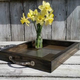 Diy Tray using Metal Tile
