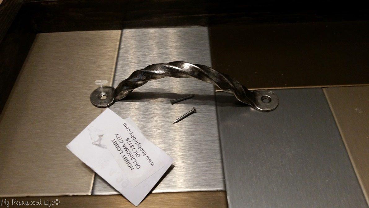 twisted metal handle
