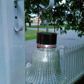 Glass Globe Solar Lights
