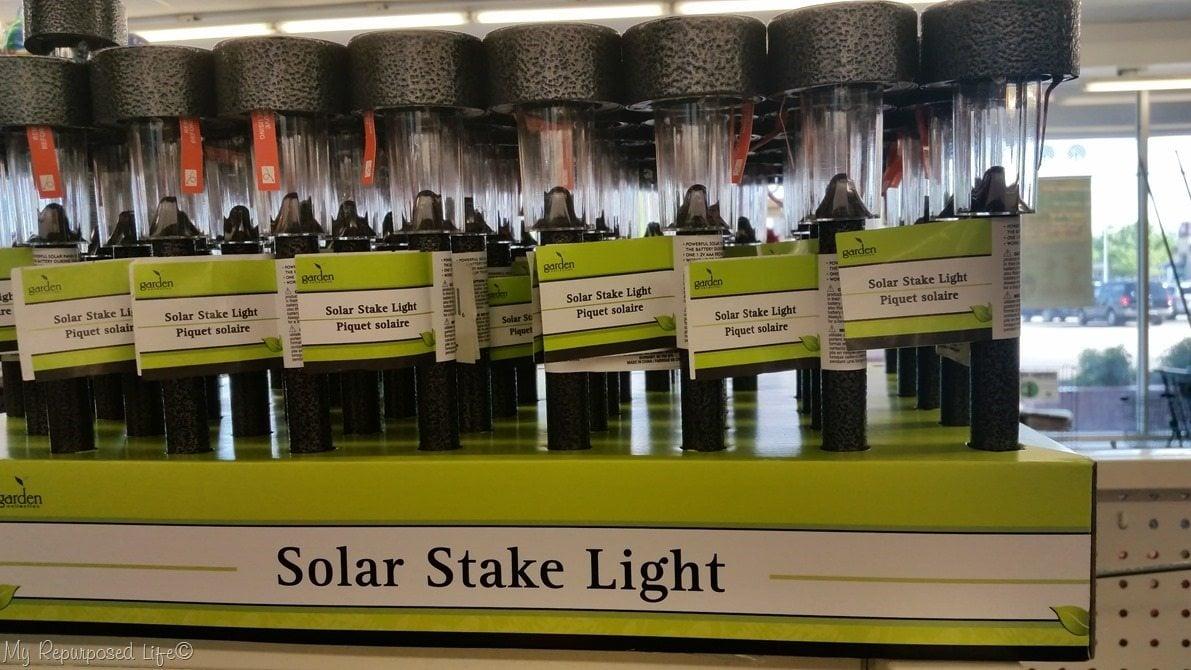 dollar store solar lights