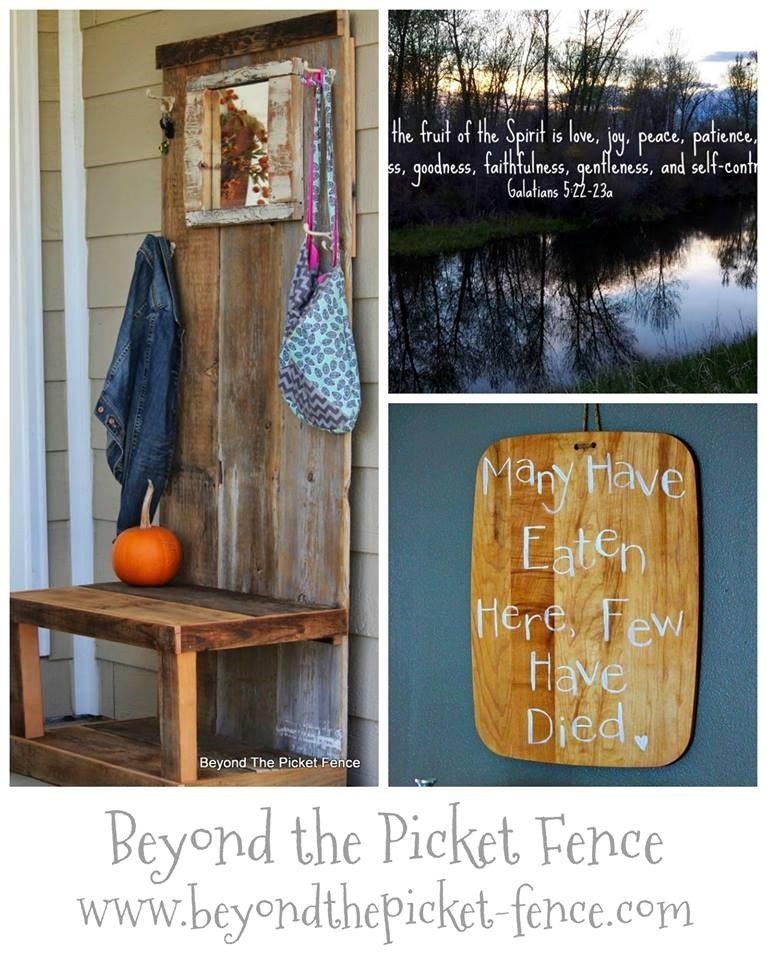 last week at Beyond The Picket Fence
