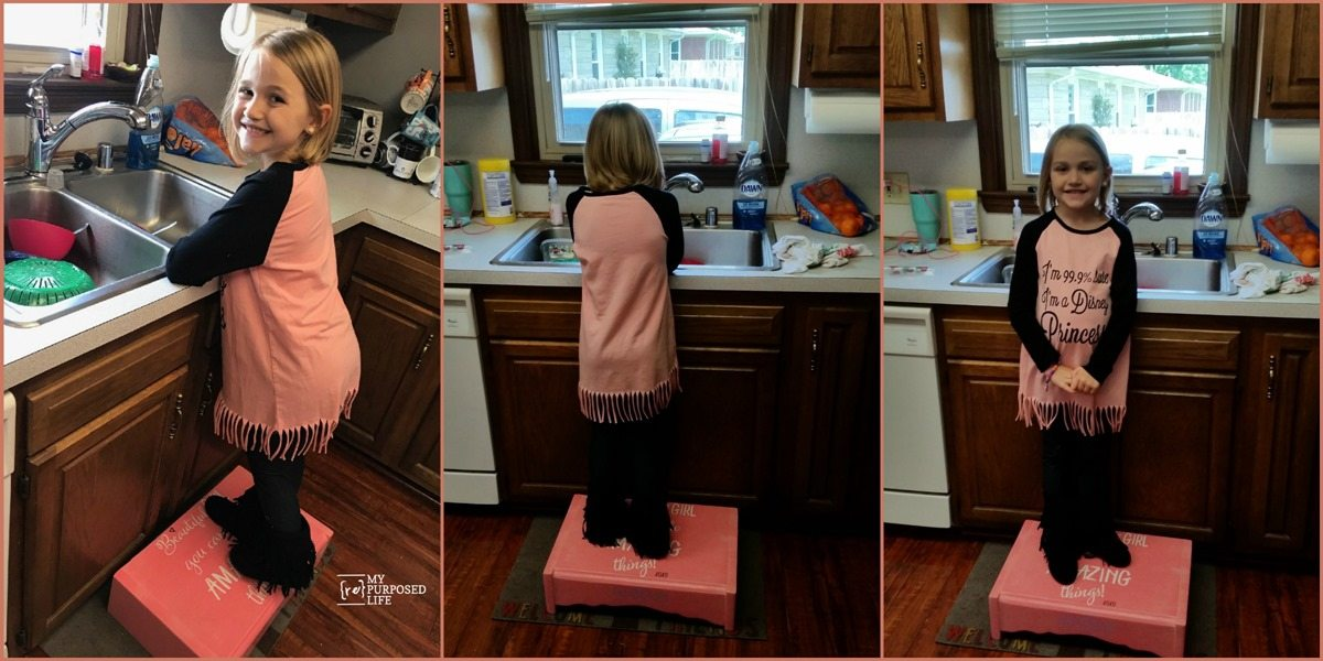 Girls Step Stool My Repurposed Life 174