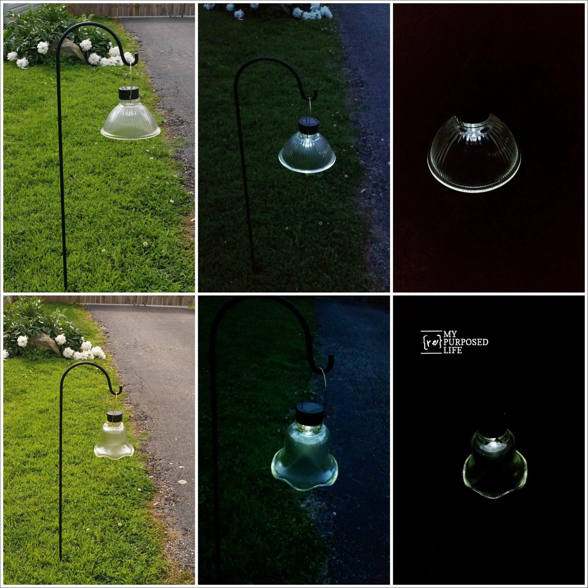 more glass globe solar lights MyRepurposedLife.com