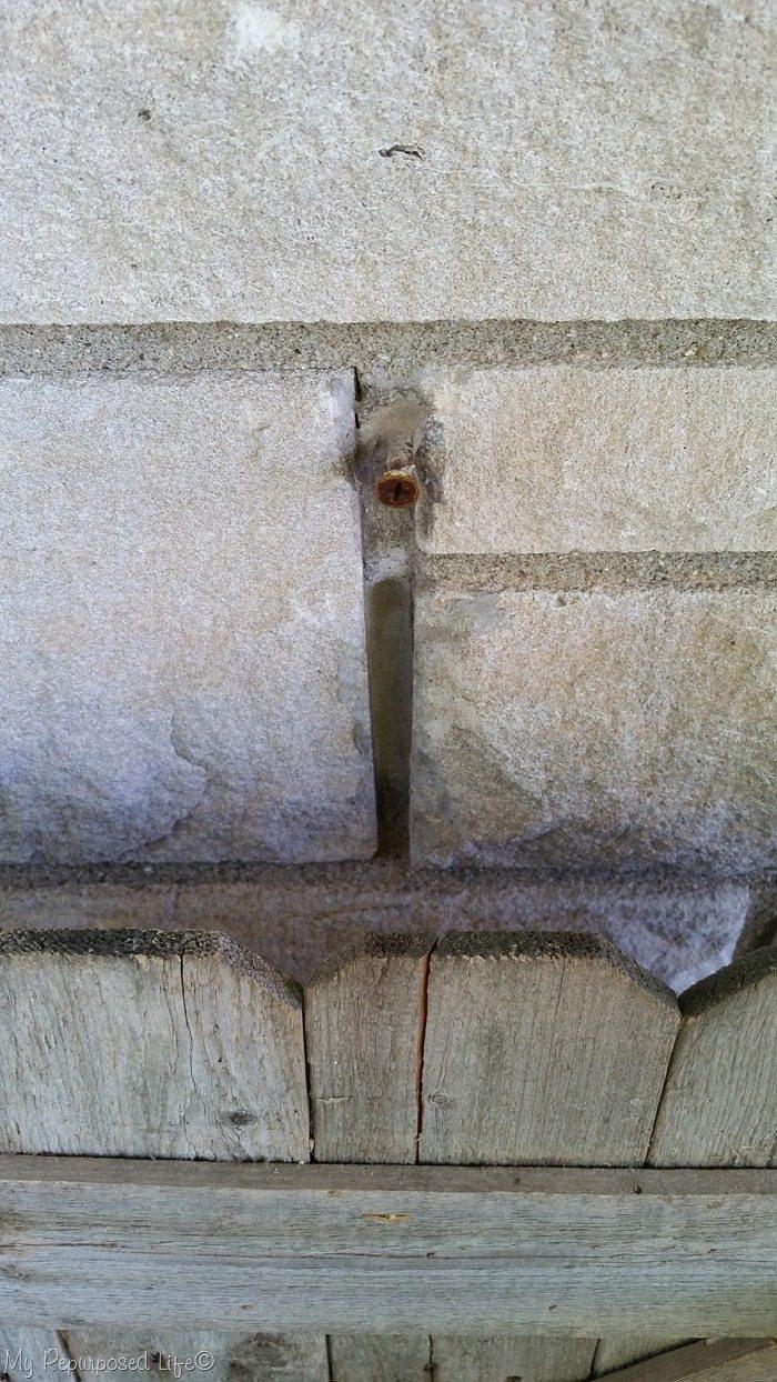 one vintage screw