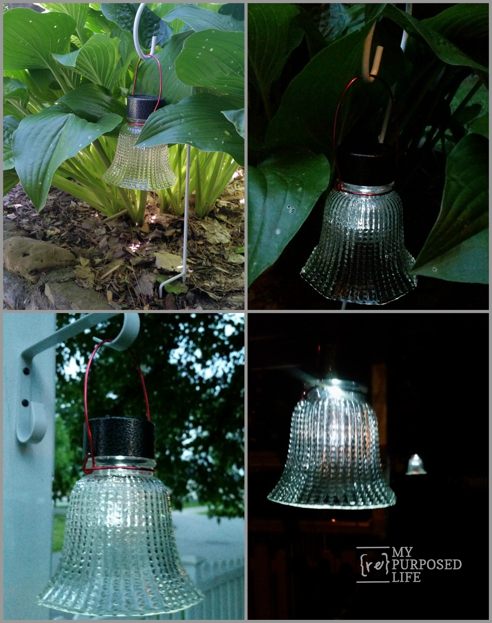 Glass Globe Solar Lights My Repurposed Life