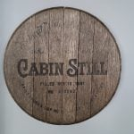 Whiskey Barrel Lid Makeover