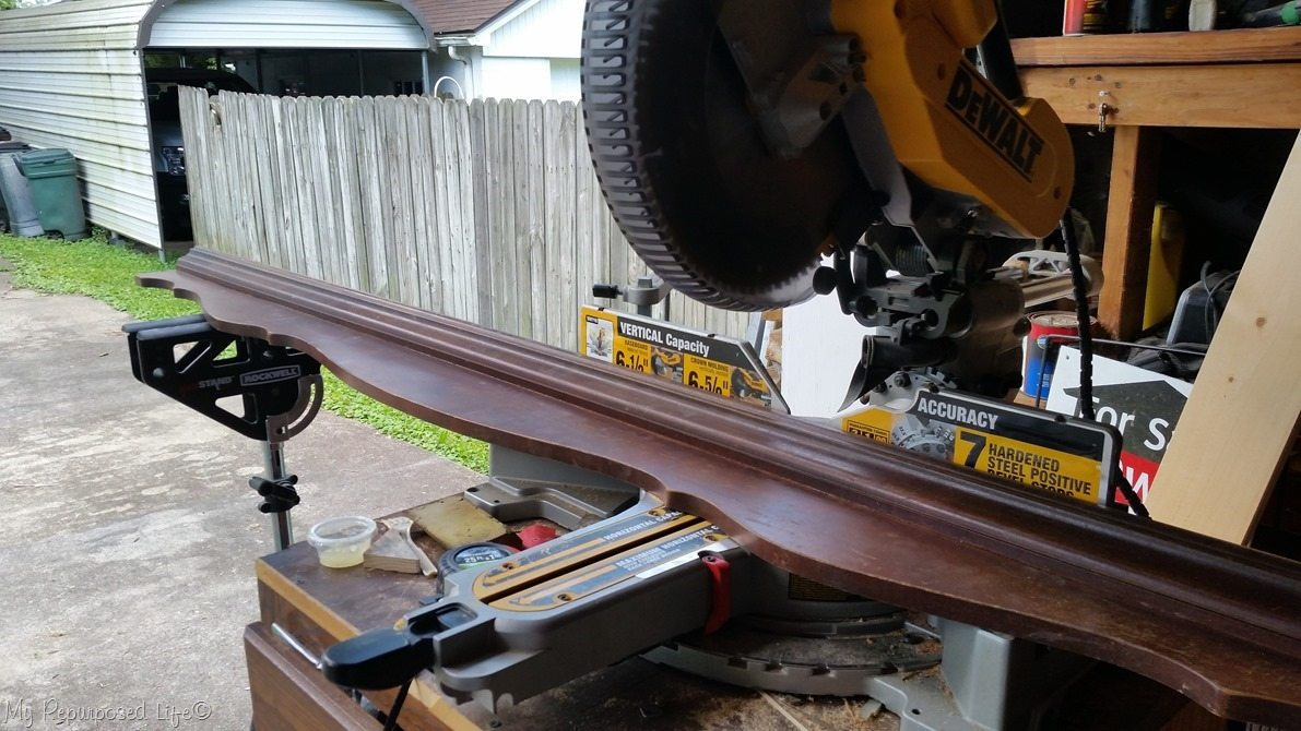 cut pediment compound miter saw