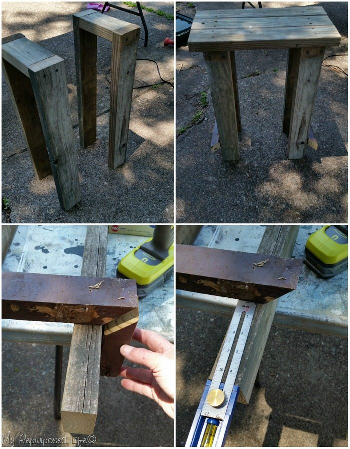 diy 2x4 bar stool