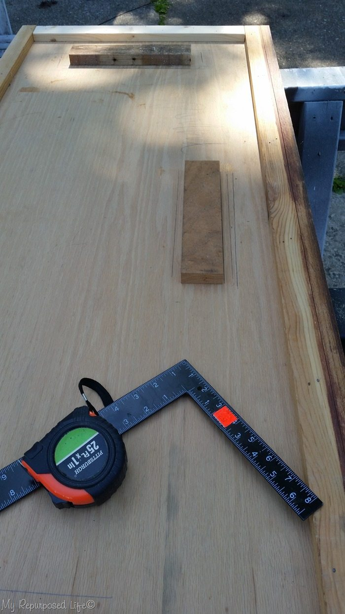 pallet bar top fits securely