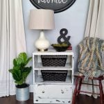 Chippy White Chest Guest Room | Coffee Station
