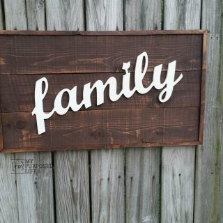 Family Sign Router CNC Shop Bot