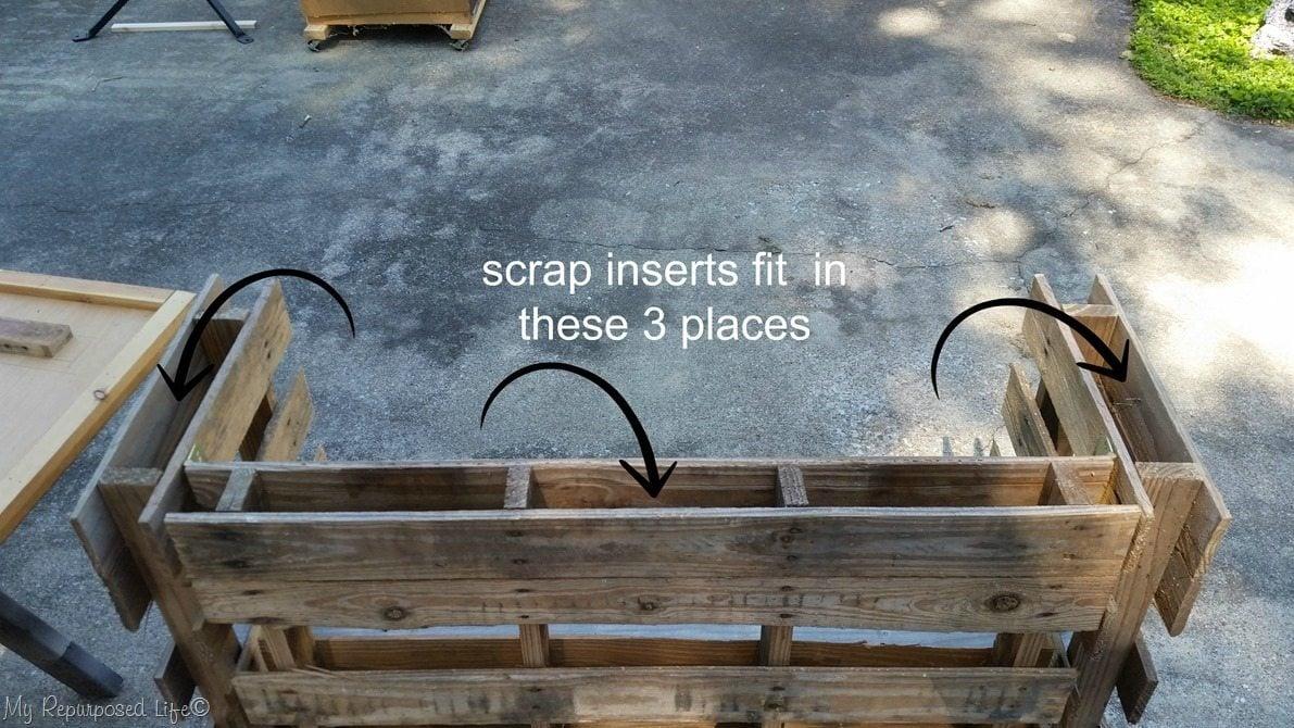 scrap inserts