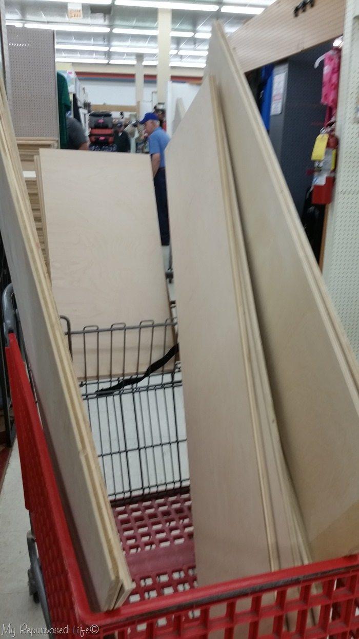 scrap plywood