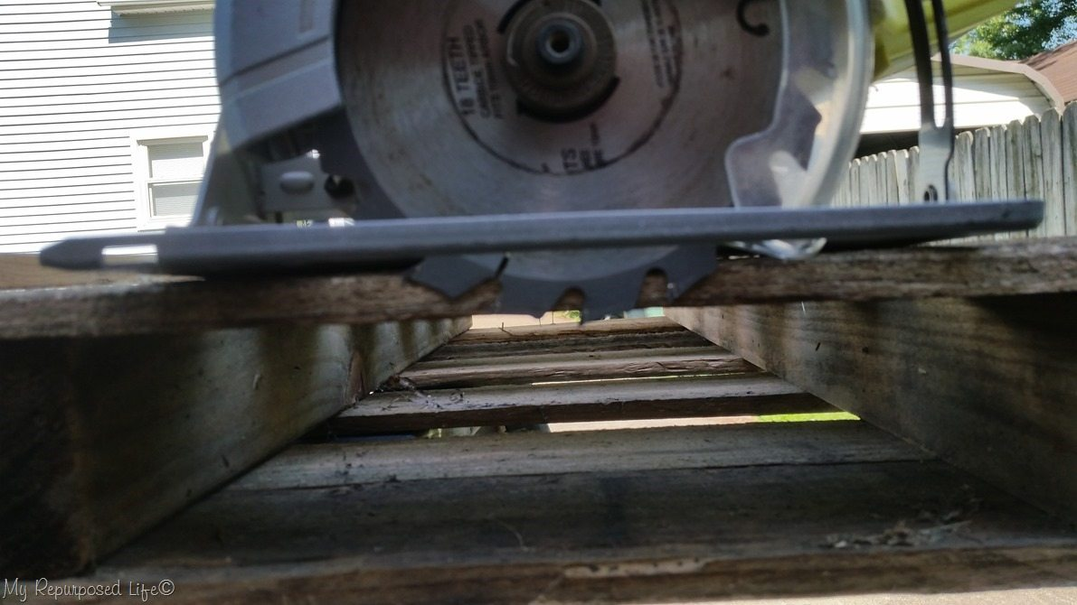 set circular saw depth
