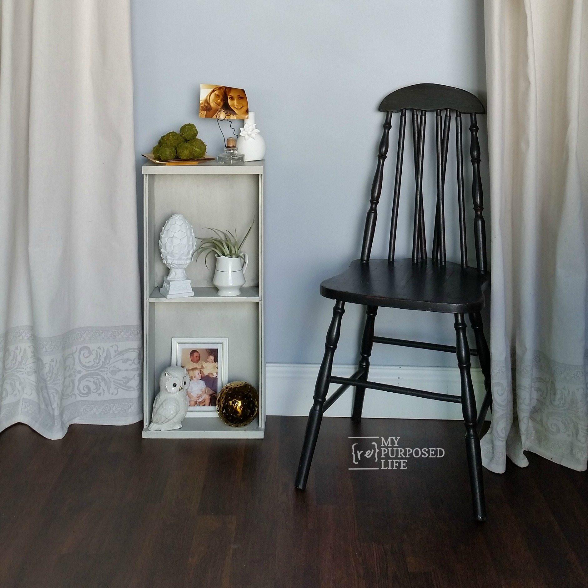 Repurposed Kitchen Drawer Shelf - My Repurposed Life®