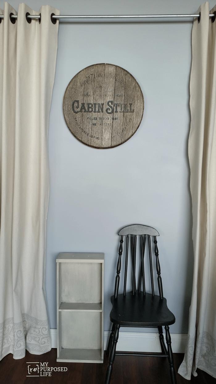 small shelf made from kitchen drawer MyRepurposedLife