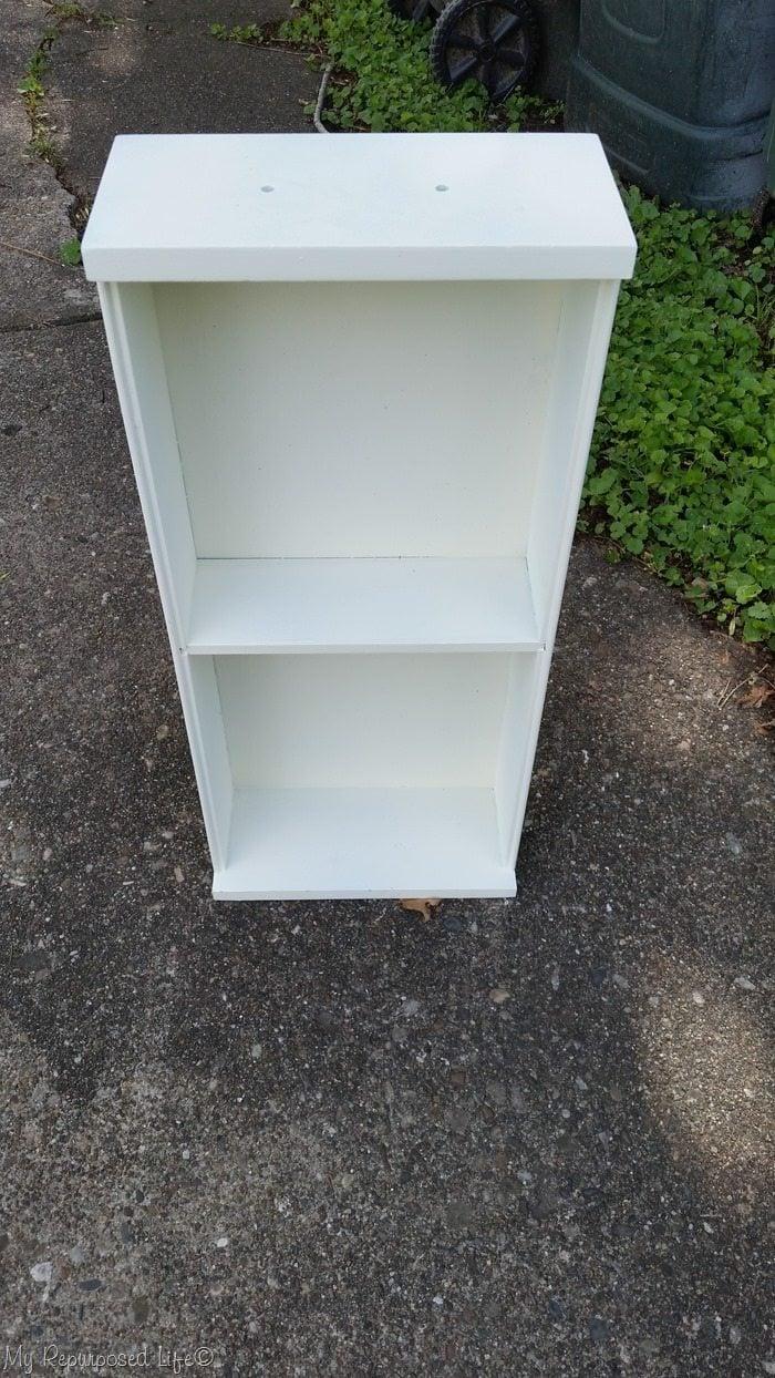 white kitchen drawer