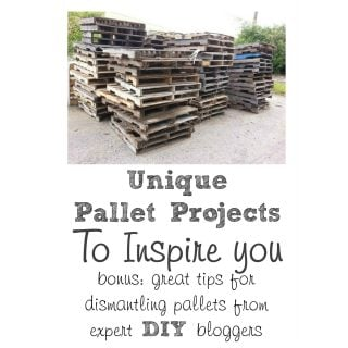 Pallet Projects plus Tips for Dismantling Pallets