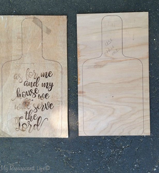 cutting board template epilog laser MyRepurposedLife.com