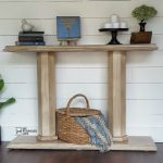 Double Column Console Table