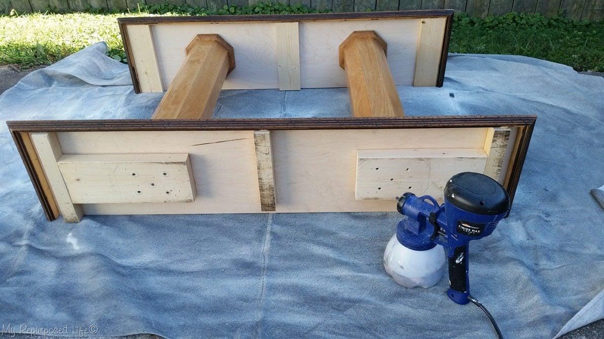 finish max super paints double column console table