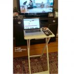 Make Your Own Standing Laptop Table for $20