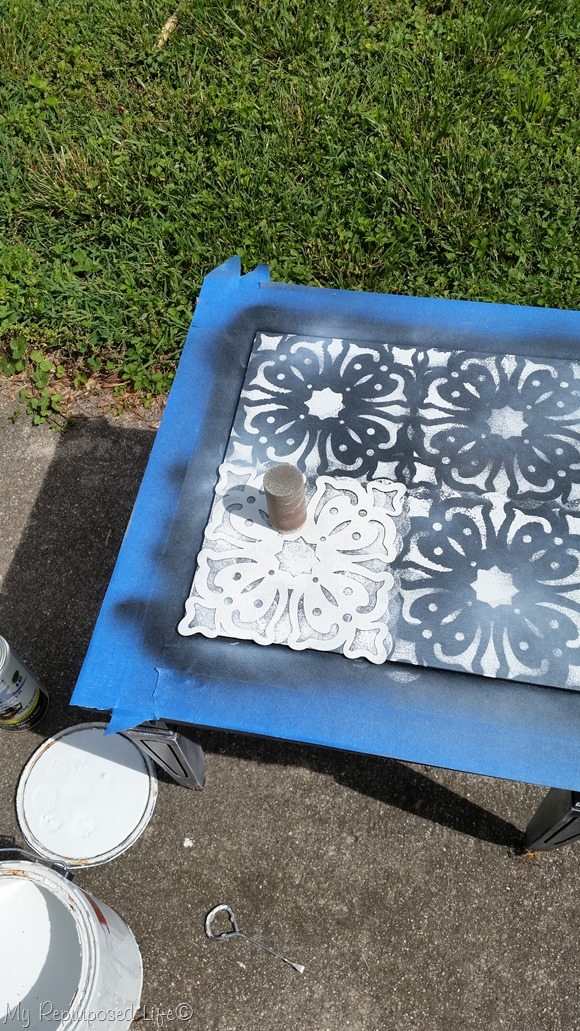 stencil small table top
