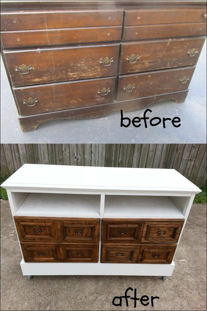 New Repurposed Furniture Old Dresser Ideas and Makeovers - My  WW27