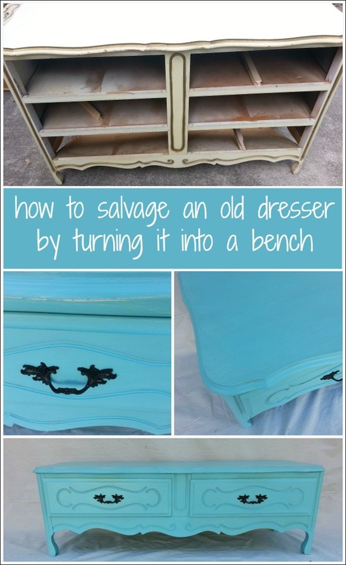 how-to-french-provincial-dresser-bench