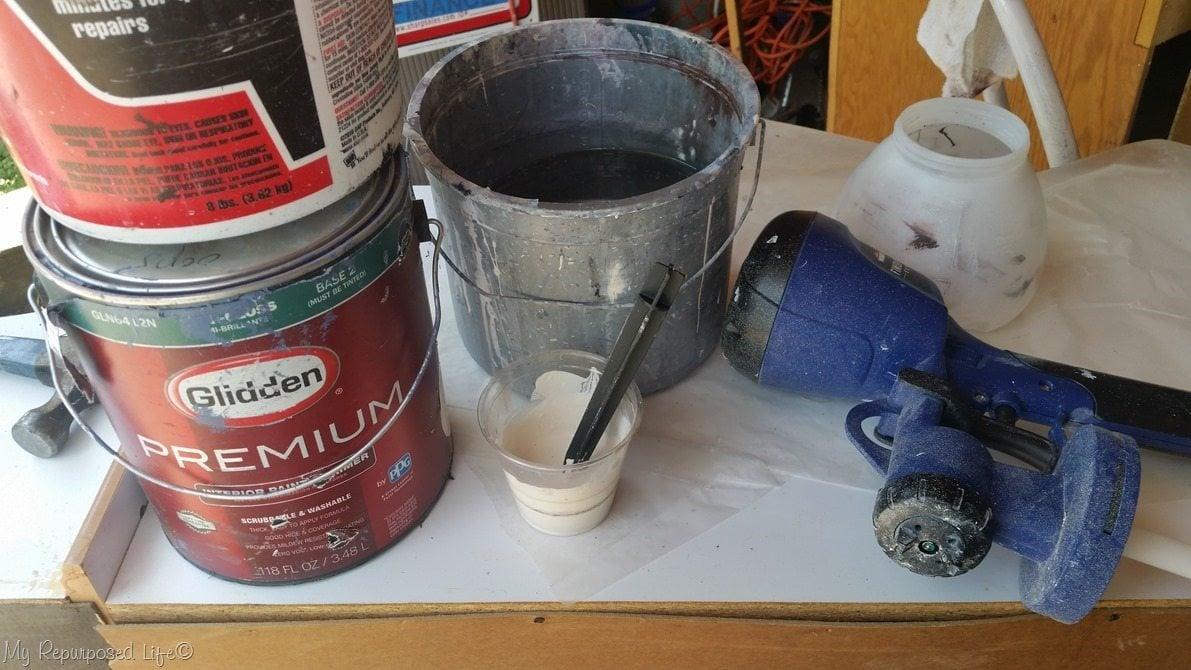 paint hutch homeright finish max super