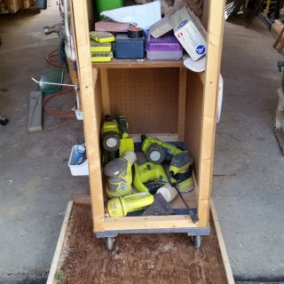 Wood Shop Organization Ideas for One Car Garage