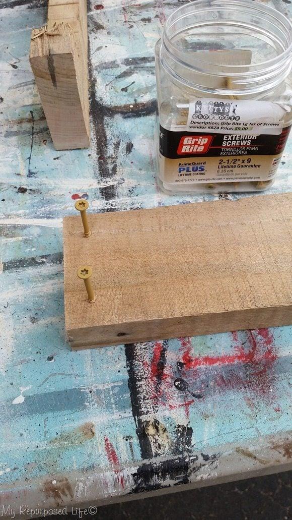 pre-start wood screws