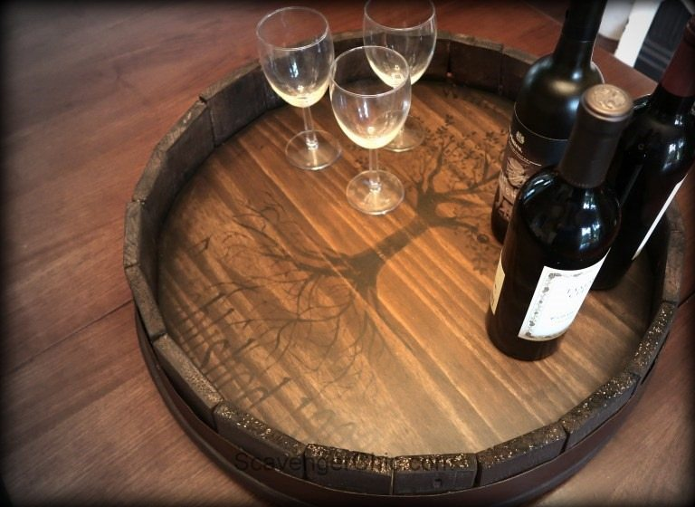 Wine-Barrel-Lazy-Susan-made-with-Pallet-wood-023-1
