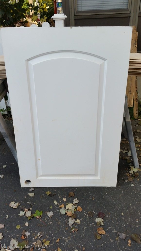 cut off hollow core door