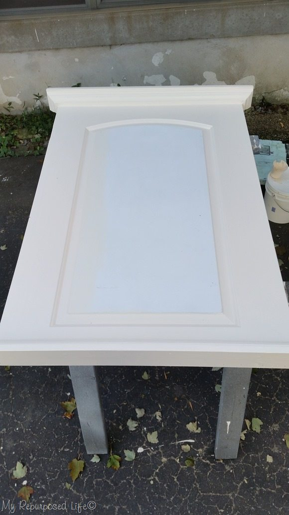 diy chalky paint primer extra large chalkboard made from a door