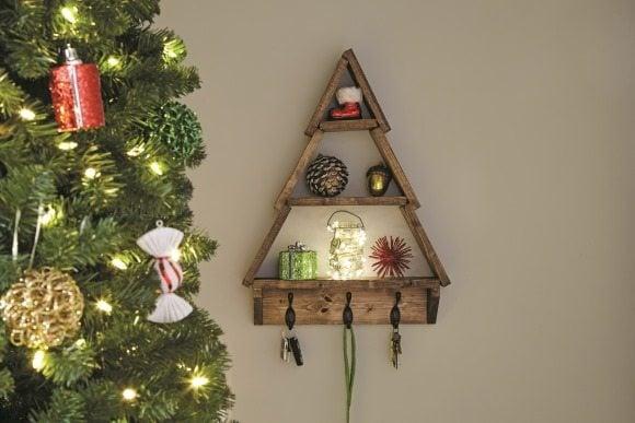 Holiday Tree Shelf