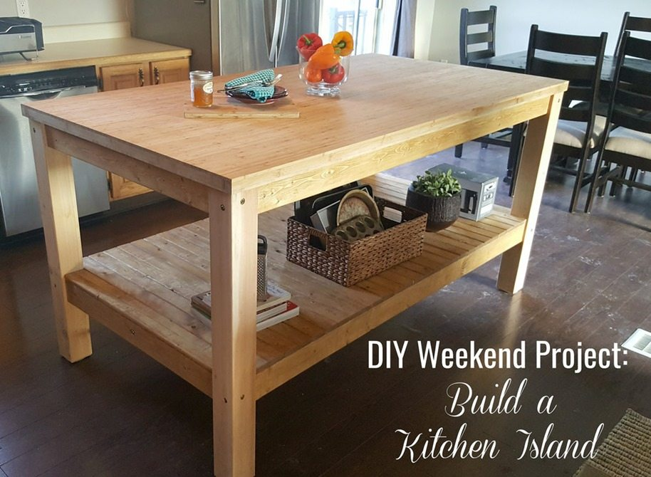 diy exciting kitchen island | Talk Of The Town Party #97 | The Interior Frugalista