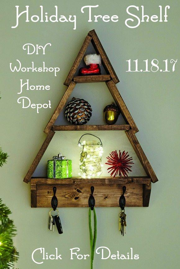holiday tree shelf click for details