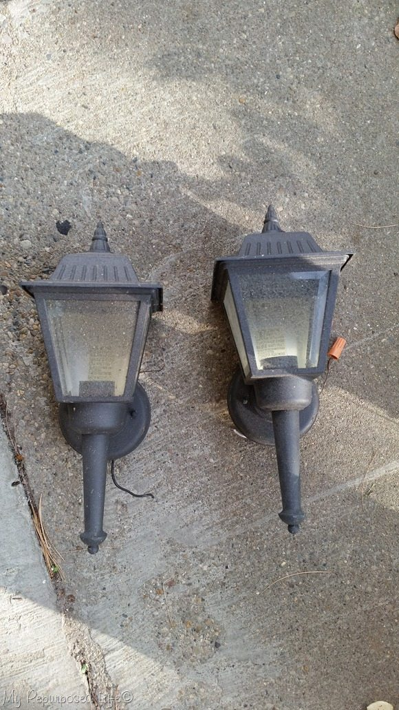 old porch lights