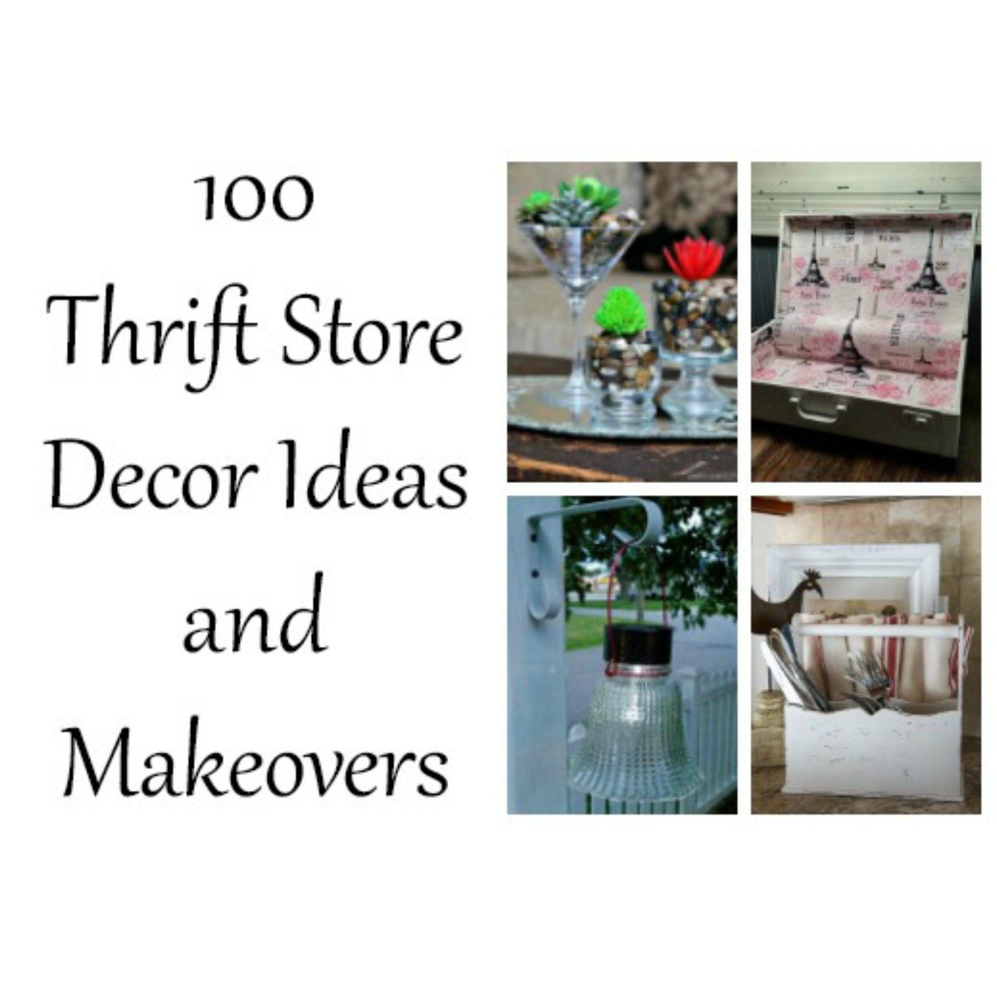 Thrifty Blogs On Home Decor: My Repurposed Life®