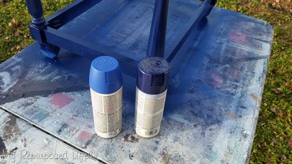 dark navy blue spray paint