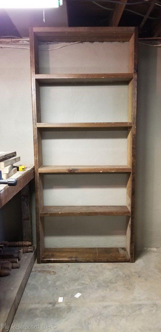 Easy Build Storage Shelf For Bat