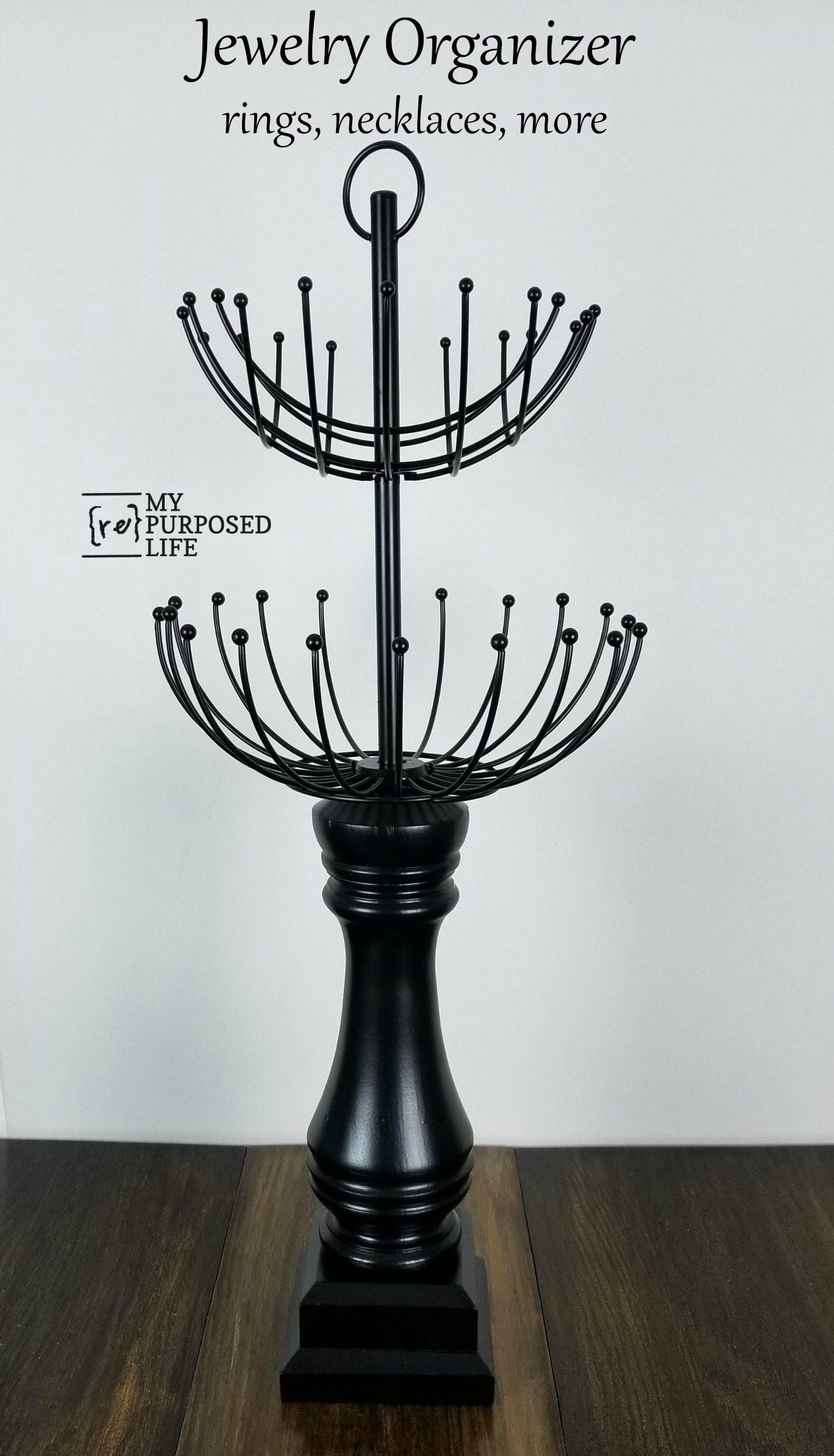 Repurposed Lamp Necklace Holder My Repurposed Life